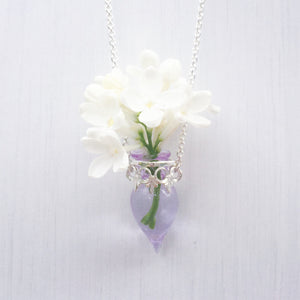 Wildflower Vial Necklace