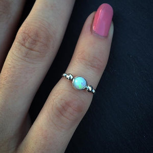 Milky Star Ring