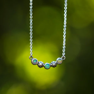 Starry Sky Necklace - Opal