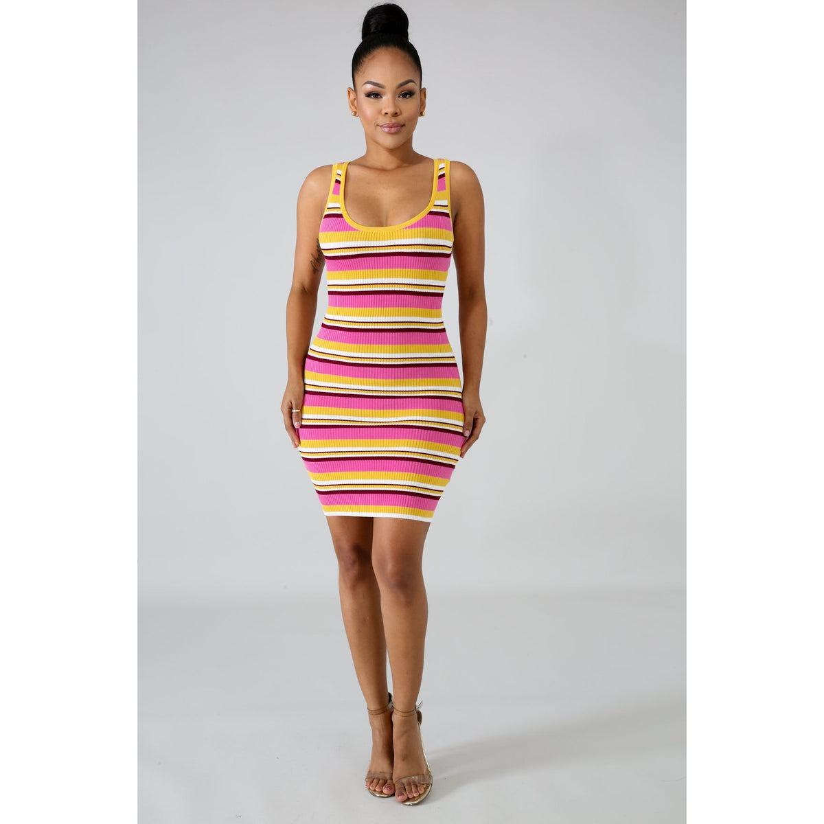 Knitted Love Body-Con Dress