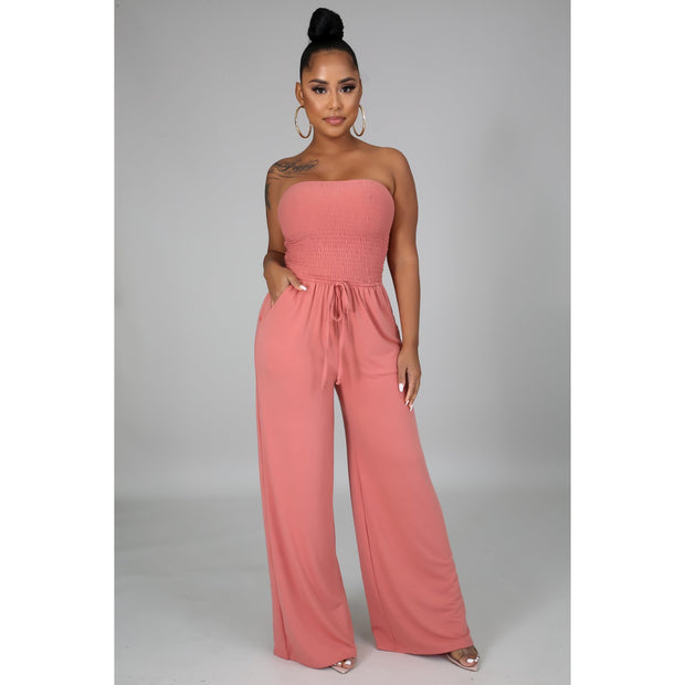 Tube Top Fresh Breeze Jumpsuit