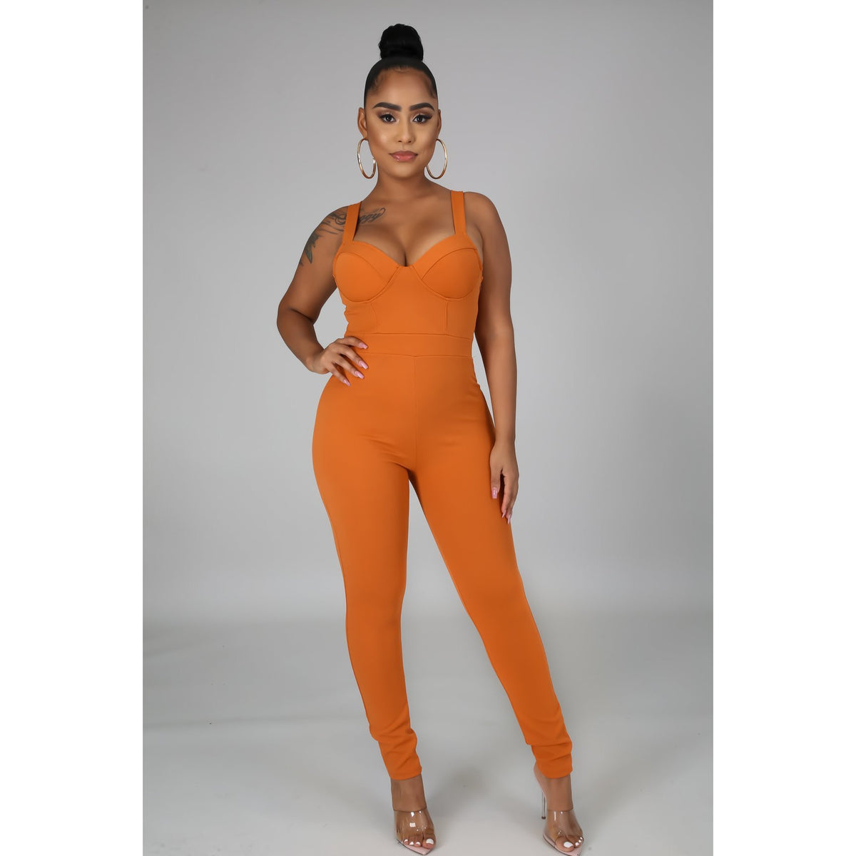 The Drea Sleeveless Jumpsuit