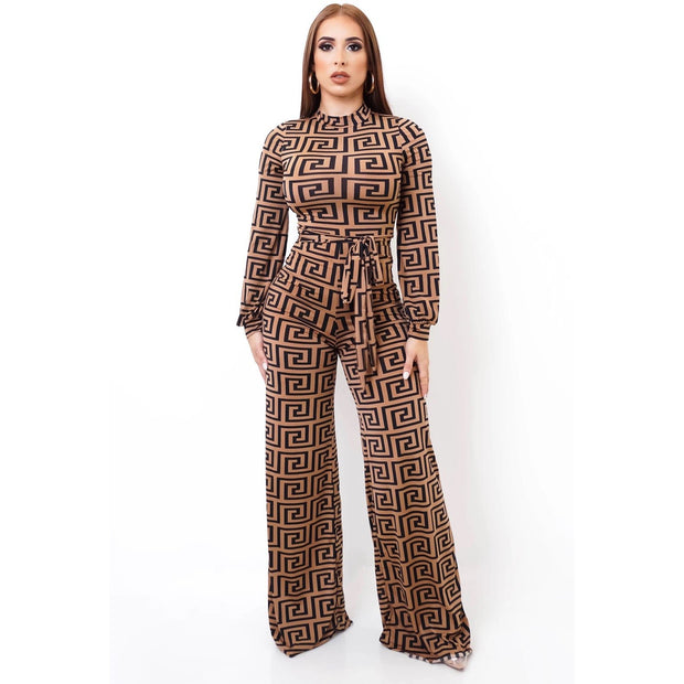 Astor Jumpsuit  Brown