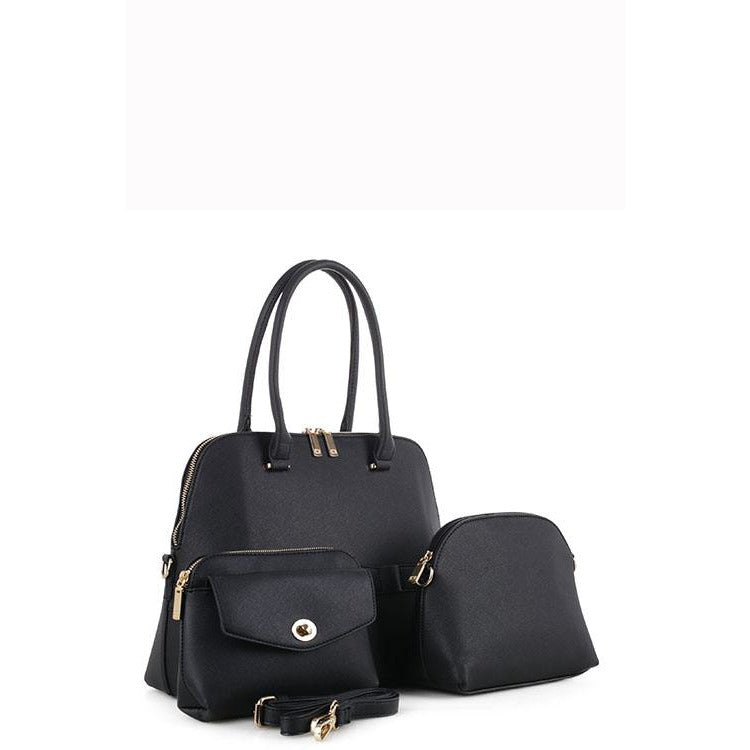 Designer 3 In 1 Tote HandBag Set