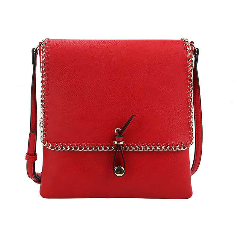 Designer Trendy Chained Crossbody HandBag
