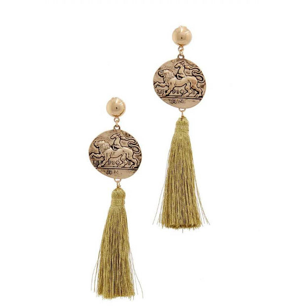 Fashion Tassel Drop Chic Earring