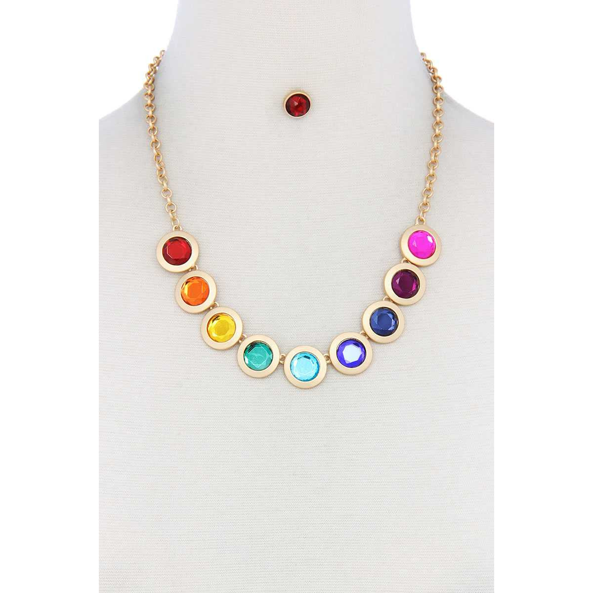Circle Metal Necklace