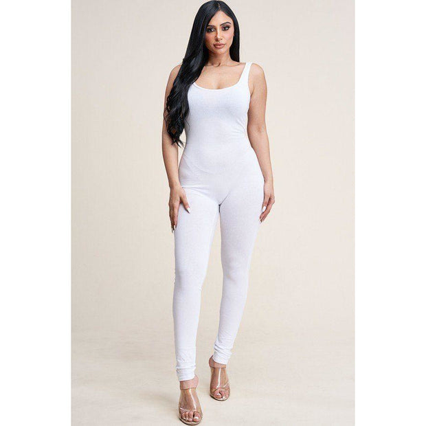 Cotton Basic Jumpsuit