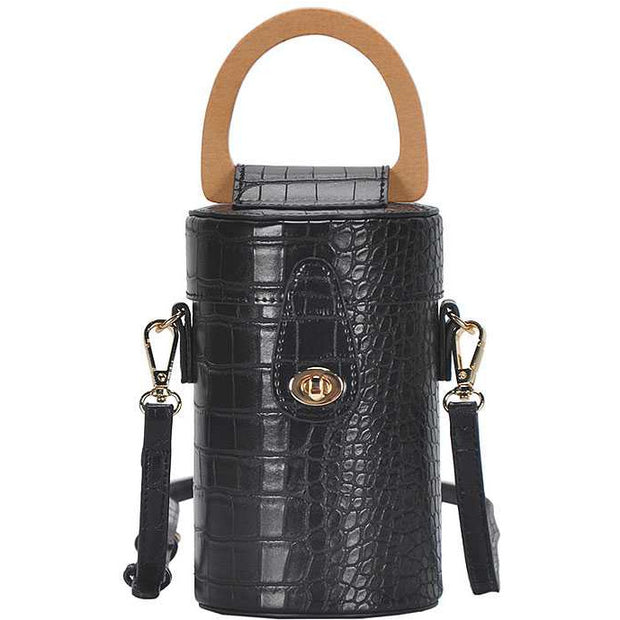 Fashion Cylindrical Cute Crossbody Bag With Long Strap