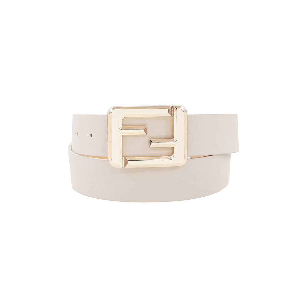 Fashion Square Letter Buckle Belt