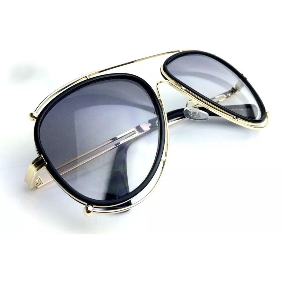 Halo Double Wire Aviator Sunglasses