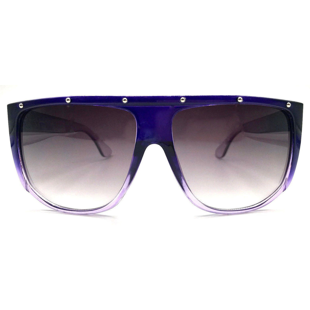 Oversize Stud Shield Sunglasses