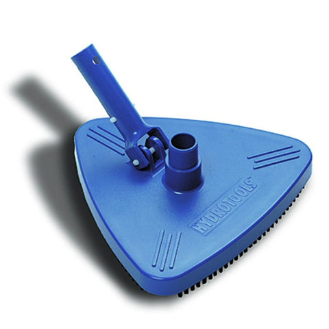 Model 8140 Triangle Swimming Pool Vacuum Head with Weights