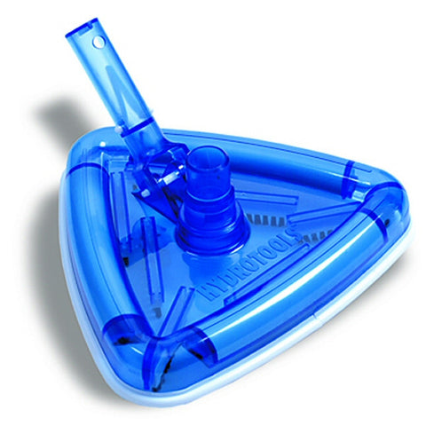 Model 8145 Clear Triangle Weighted Swimming Pool Vacuum Head