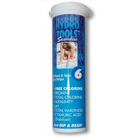 Model 8496 Swimline 6 Way Pool and Spa Test Strips