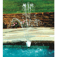 Model 8575 Swimming Pool Wall Flower Fountain Set