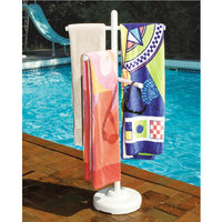 Hydrotools Swimline Model 89032 Poolside Towel Rack