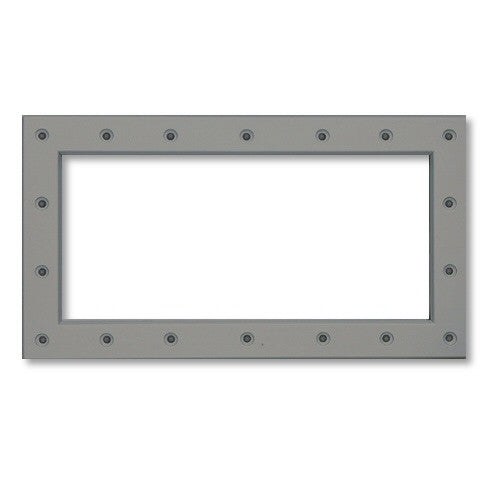 Model 8918G Front Plate for Widemouth Skimmer, Grey