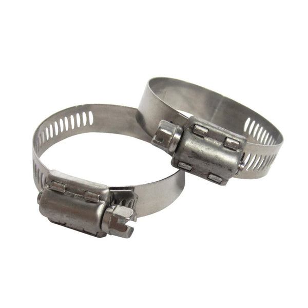 "Model 8957 Hose Clamps for 1-1/4"" and 1-1/2"" Filter Connection Hoses, 2 Pack"