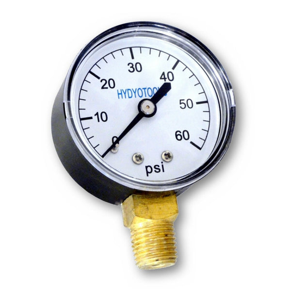 Model 8960 Bottom Mount Pressure Gauge 0-60 PSI Range