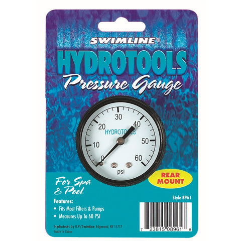 Model 8963 Rear Mount Pressure Gauge 0-60 PSI Range