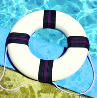 "Model 89870 Swimming Pool 18"" Diameter Foam Safety Ring Buoy"
