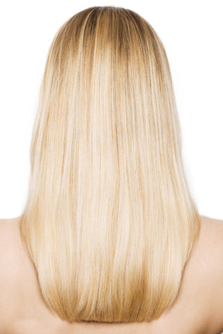 Beach Blonde #613-Machine Weft-Remy Hair Extensions