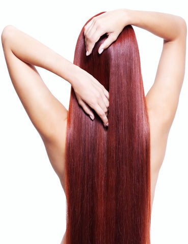 Dark Auburn #33-Machine Weft-Remy Hair Extensions