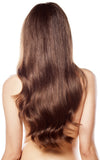Cocoa Brown #4-Machine Weft-Remy Hair Extensions