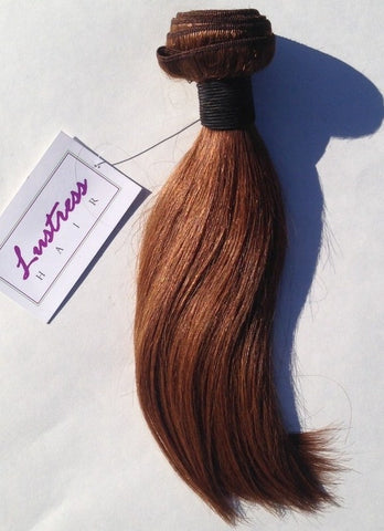 Auburn #30-Machine Weft-Remy Hair Extensions
