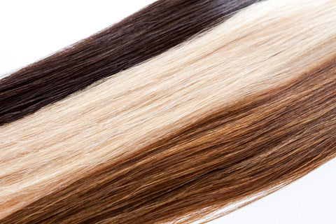 Colored Remy Hair Extensions-Hair Sample-10 inches
