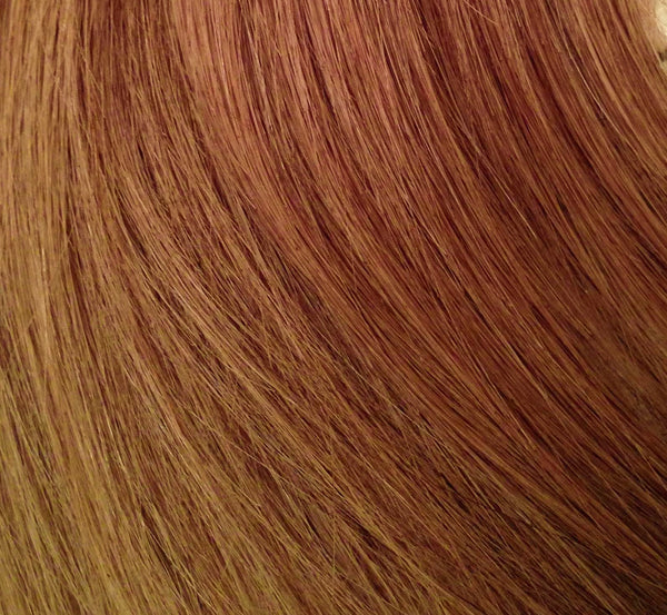 Sandy Brown 8 Machine Weft Remy Hair Extensions Lustress Hair