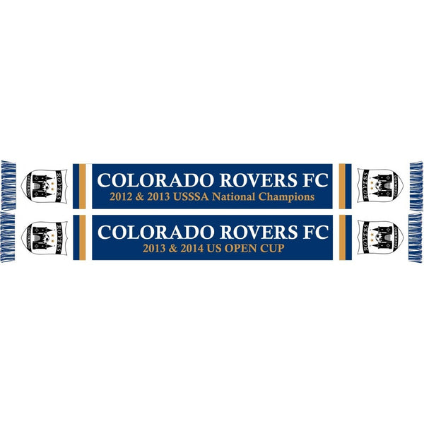 Colorado Rovers Scarf 2014