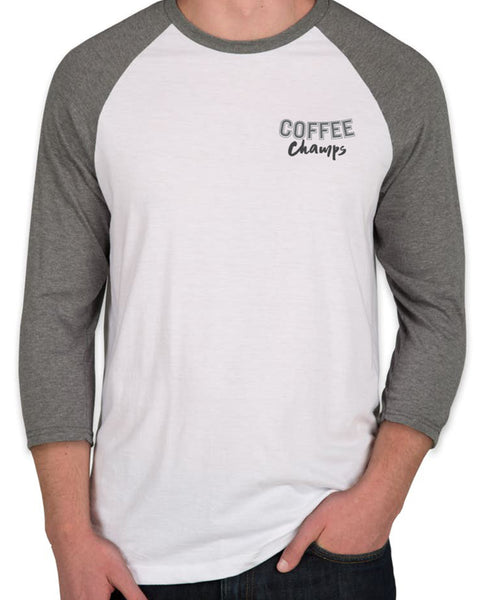 Coffee Champs Baseball Tee