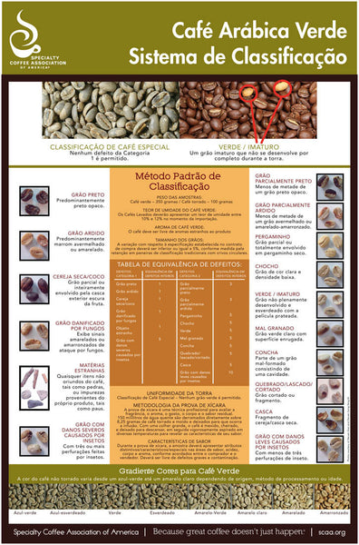 Green Arabica Coffee Classification System - Portuguese (Digital Version)