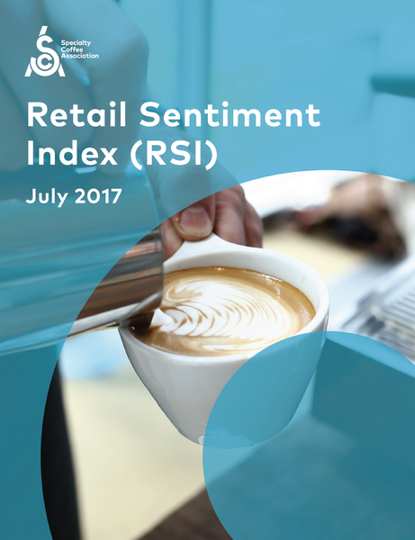 Specialty Coffee Retail Sentiment Index (RSI) July 2017