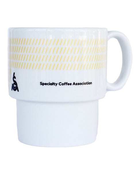 Retro Mug - Yellow