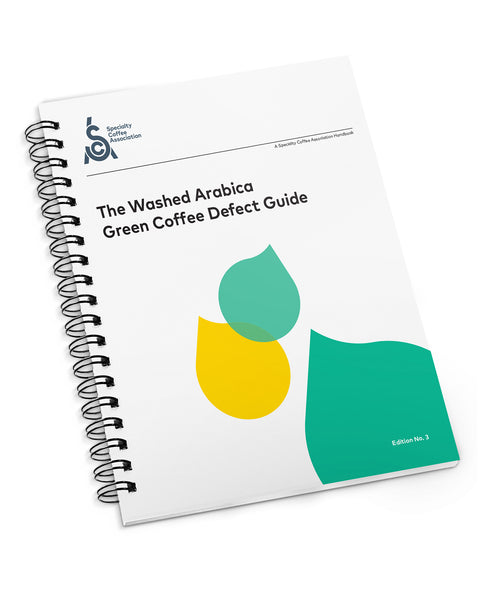 Paperback Spiral bound SCA Handbook Series The Washed Arabica Green Coffee Defect Guide