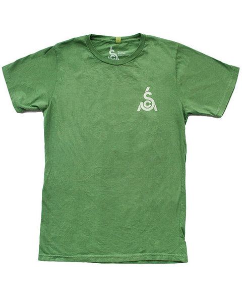Natural Dye T-Shirt - Green