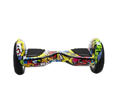 "Bluetooth 10""  UL2272 Graffiti Hoverboard Smart Self Balancing Electric Scooter v5"