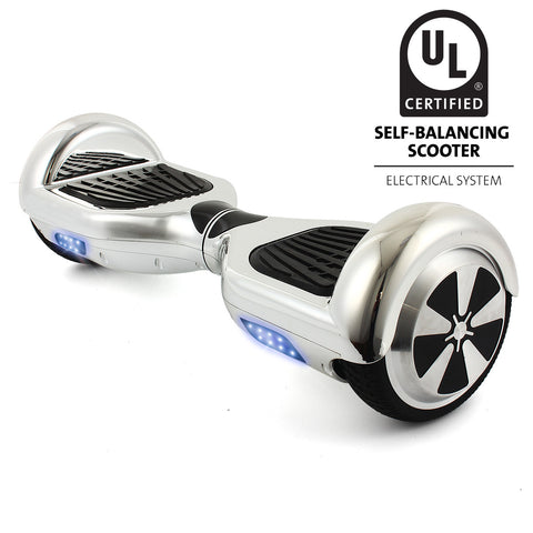 Certified UL2272 Silver Chrome HoverBoard V2