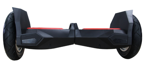"All Terrain 10"" Lambo Bluetooth Black/Red Hoverboard Smart Self Balancing Electric Scooter v5"