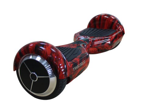 "6.5"" Pro UL2272 Smart Self Balancing Electric E Scooter Hoverboard Flame v2"
