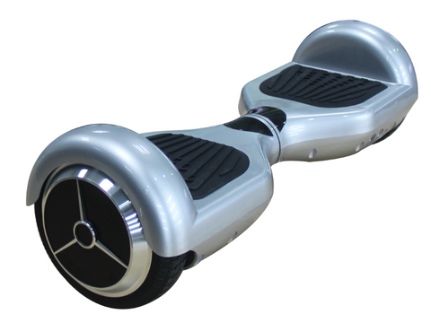 "6.5"" Pro UL2272 Smart Self Balancing Electric E Scooter Hoverboard Silver v2"