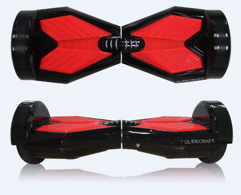 Pro 300 UL2272 Hover board Scooter - Black/Red Lambo v5