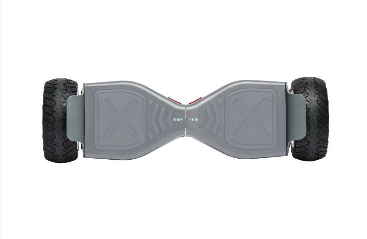 "All Terrain OR 8"" UL2272 Bluetooth Hoverboard Grey v5"