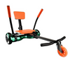 "Hover Kart For 6.5"" Two Wheel Self Balancing Scooter Attachment-Orange"