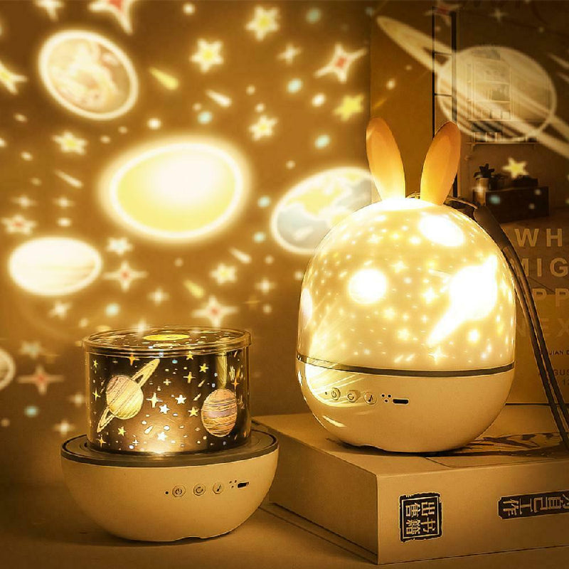Cute Elf Projection Lamp