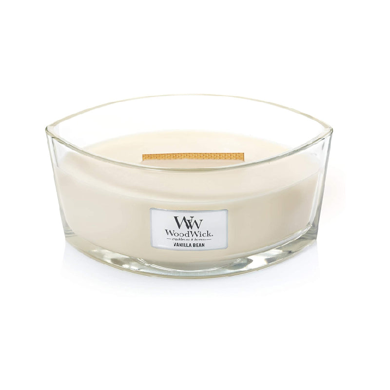 Woodwick Ellipse Jar Vanilla Bean