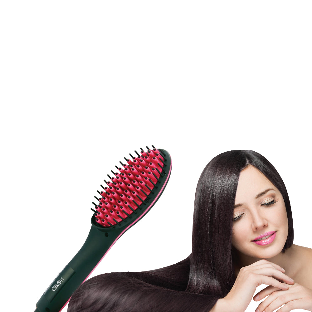 Clikon Ionic Hair Straightener Brush CK3259